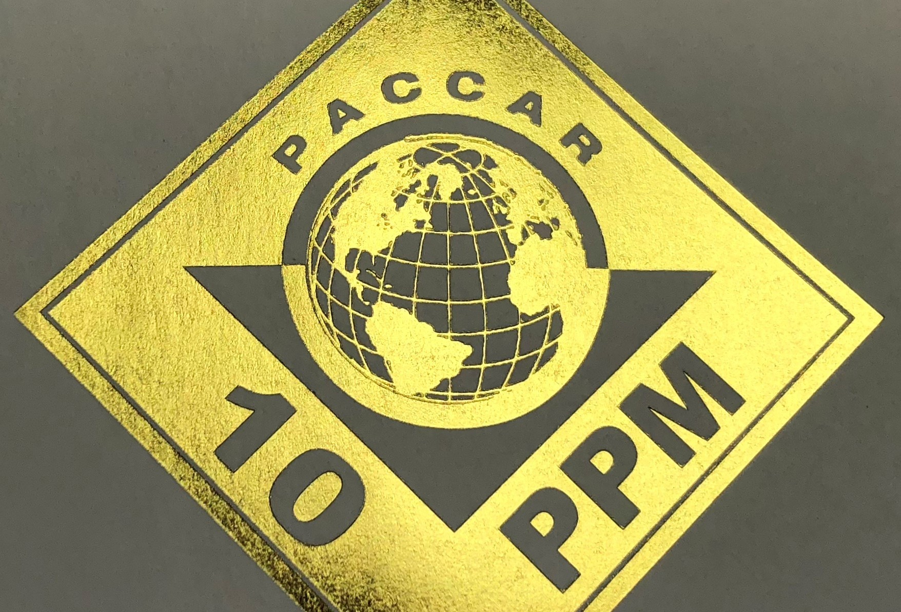 Paccar 10PPM award