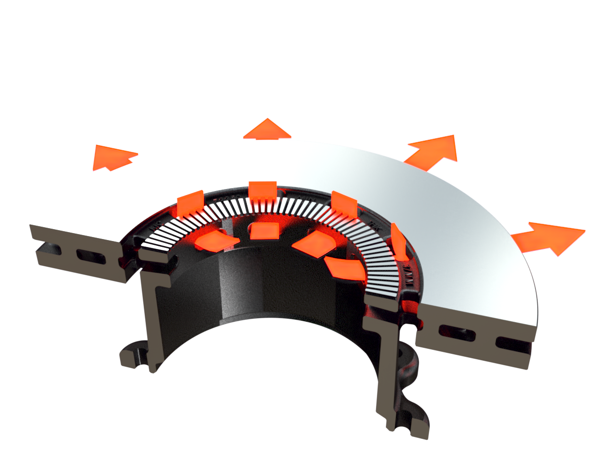 Dual Connect Rotor Airflow