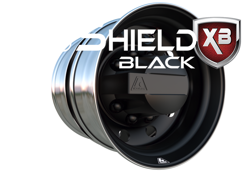 Proshield Black Web Graphic