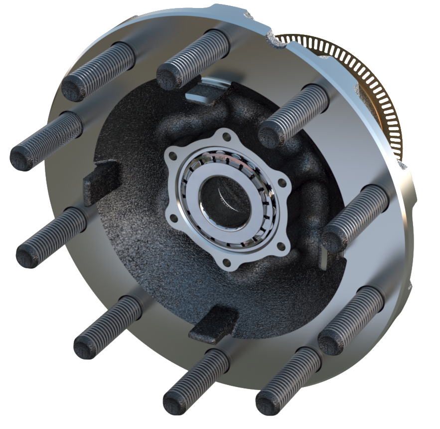Gunite Wheel Hub